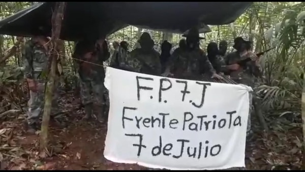 Autoridades investigarán mensaje de grupo amenazando al presidente Alvarado. Captura de video.