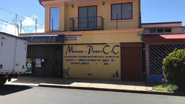 El dueño de la pañalera falleció cuatro días después en el hospital. Foto: Alonso Tenorio.