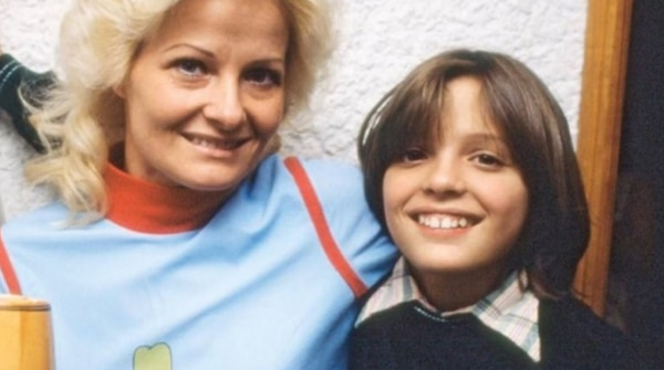 Luismi era muy unido a su mamá. Infobae.