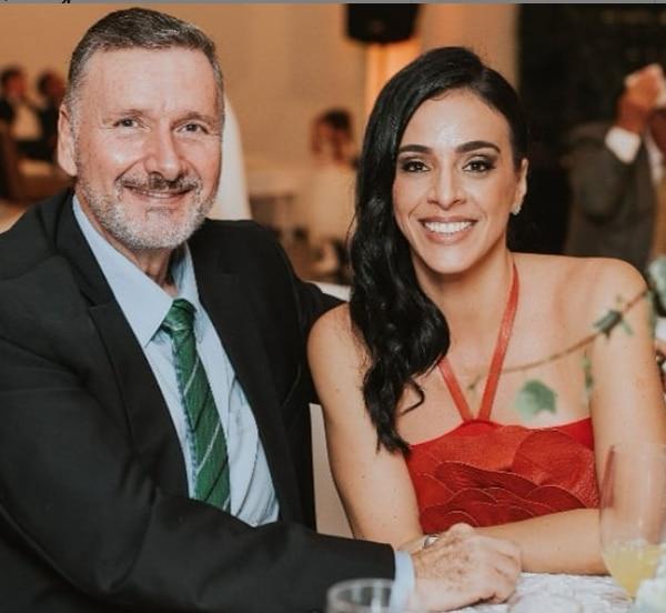 La periodista y expresentadora de Informe 11 Las Historias se casó con el empresario en setiembre de 2016. Instagram