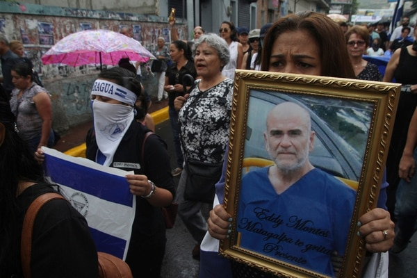 Eddy Montes era un preso político y falleció en unos disturbios en la cárcel el pasado 16 de mayo. AP