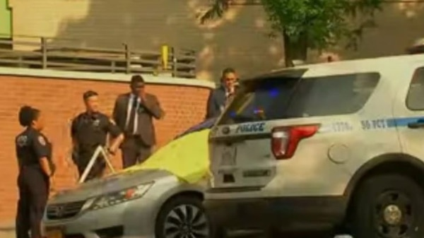 La Policía de Nueva York atendió el caso. Tomado de YouTube