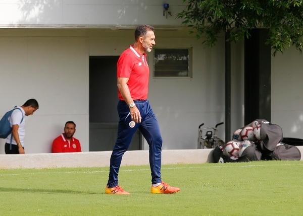 Hidalgo no cree que un mal resultado de la Sele en la Copa de Oro vaya a ser usado como un tema político para calificar el trabajo del técnico Gustavo Matosas. Albert Marín