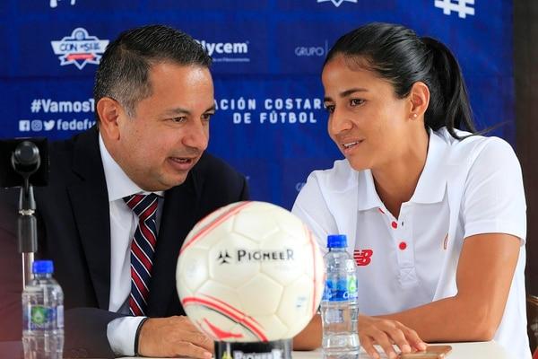 El fútbol femenino no ha clasificado a nada desde que Rodolfo Villalobos está en la presidencia. Foto: Rafael Pacheco