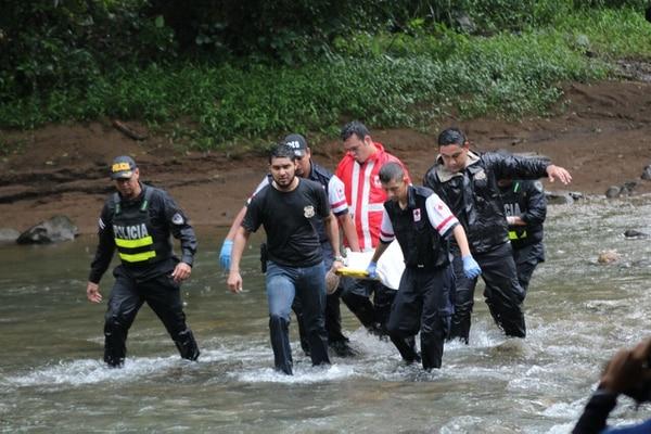 Los cuerpos fueron encontrados en un río. Foto: Archivo.