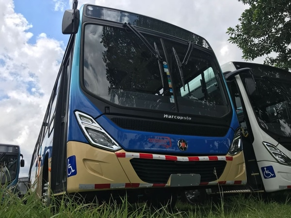La empresa adquirió 16 unidades modelo 2018. Foto: Marcopolo.