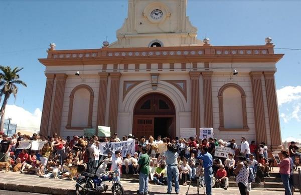 El caso Camila llegó a movilizar a bastantes activistas exigiendo explicaciones a la iglesia católica.