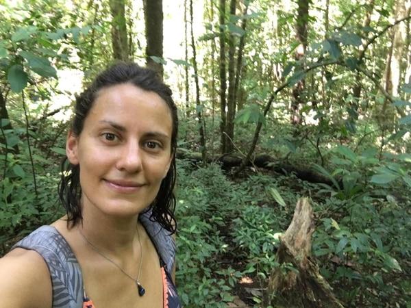 Karin Holzapfel es simpática, le gusta la aventura y dice que le encantaba Costa Rica. Foto: Cortesía Meinolf Schulte, para La Teja