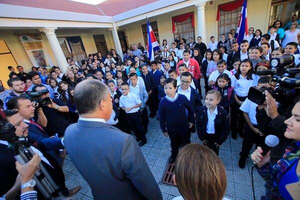 Los estudiantes tendrá toda la Semana Santa libre. Foto: Rafael Pacheco