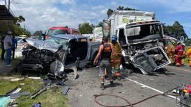 Una persona muere por día en el país en accidentes de tránsito