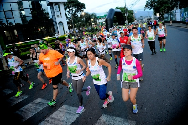 La Media Maratón aumentará en participantes para este año. Foto: Rafael Murillo.