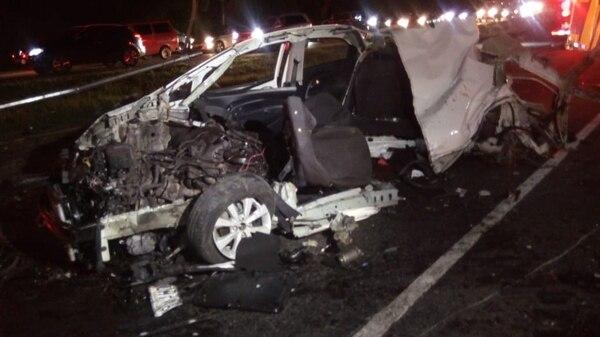 En el accidente se vieron involucrados dos carros marca Audi y un Kia. Fotos: Cortesía para LT