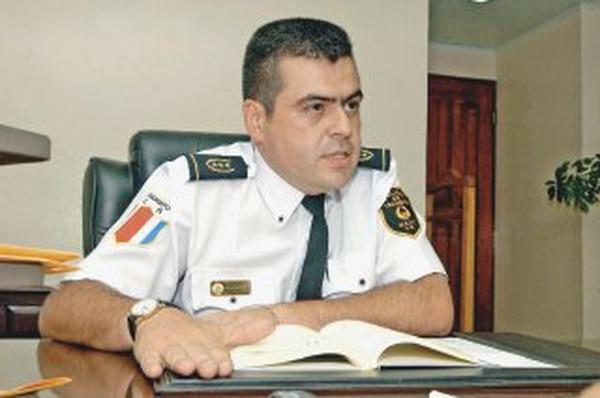 """Más fe que san Roque: """"La Policía de Tránsito espera que los conductores sigan respetando los lineamientos de salud y los criterios médicos, así como la Ley de Tránsito"""", dijo German Marín, director de la Policía de Tránsito. Foto: Eyleen Vargas."""