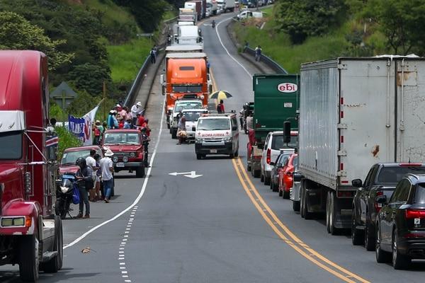 Los vinculados al sector turismo fueron parte de los afectados con los bloqueos que anuncian se mantendrán este fin de semana. Foto: José Cordero