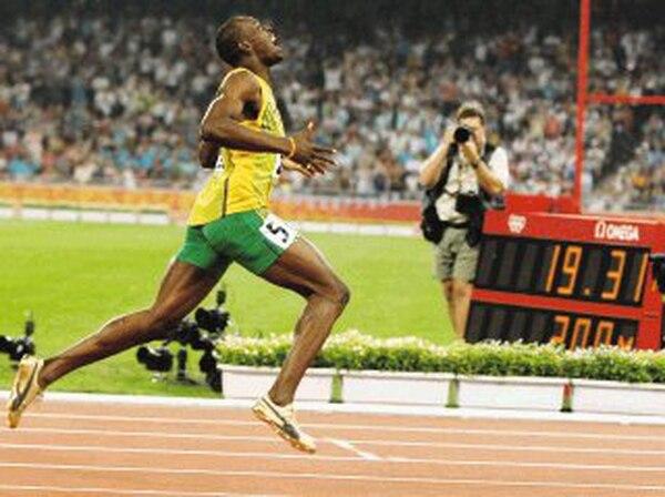 En la pista nadie ha igualado lo hecho por el jamaiquino. AP