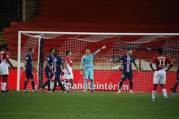 Keylor tuvo una destacada participación en el juego ante Mónaco. Foto: Twitter Keylor Navas