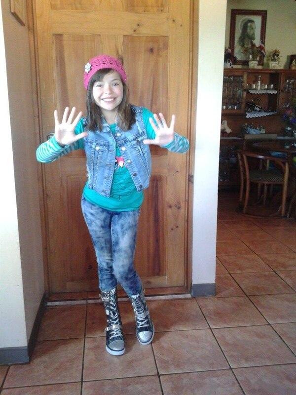 Era el 2014, el 10 de enero, Sofía cumplía 10 años, el capítulo de la leucemia no había comenzado. Cortesía.