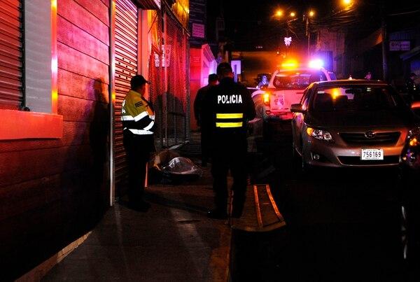 El porteador fue asesinado casi a la par del salón de baile. Fotografía Rafael Murillo
