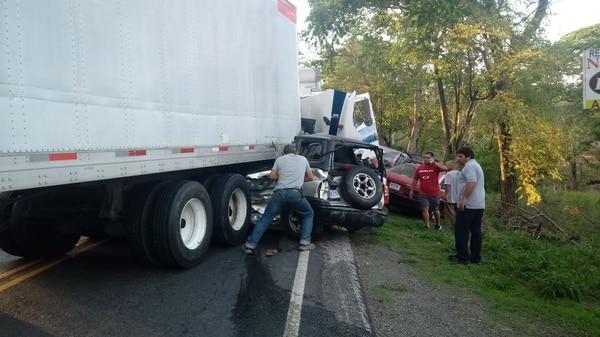 La Policía de tránsito dice que la principal causa de accidentes es la alta velocidad. Foto: Cortesía.