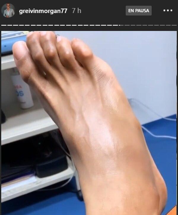 El morenazo pasó todo el martes de doctor en doctor para ver si logra recuperarse de aquí al domingo. Instagram
