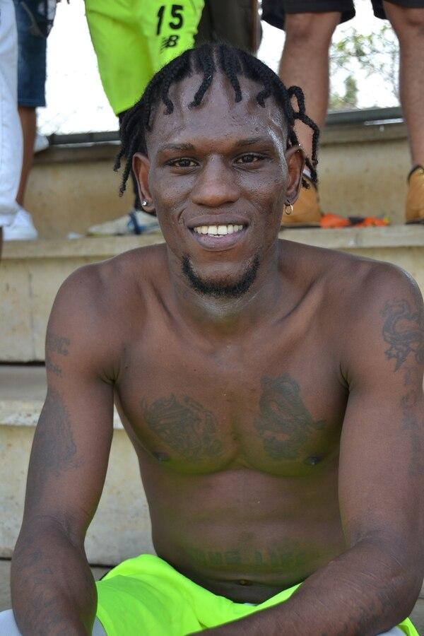 Dailan Chinchilla, jugador de La Familia, lleva once años preso y le faltan cinco años para salir. Foto: Shirley Vásquez