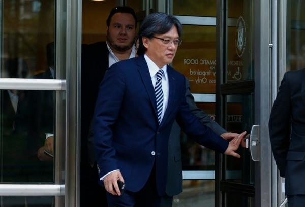 Eduardo Li se sentará en el banquillo como testigo de Gutiérrez y Román. AFP