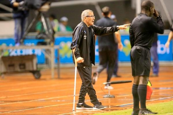 El año pasado el Maestro estuvo en Costa Rica cuando Uruguay jugó contra la Sele en el Nacional. Foto: Rafael Pacheco