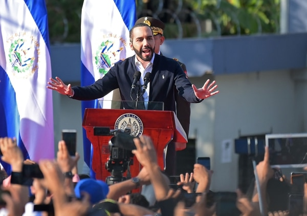 Nayib Bukele, presidente de El Salvador. AFP)