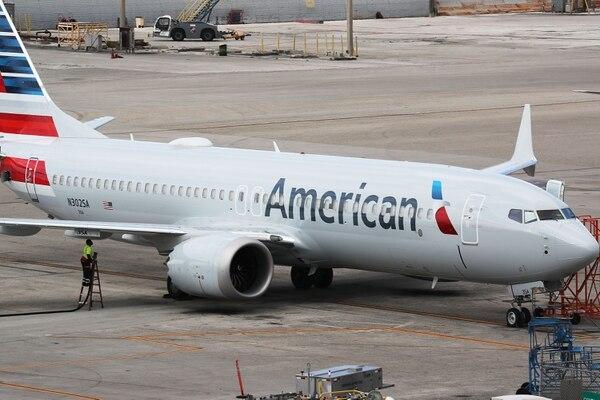 Son pocas las aerolíneas que están entrando a Venezuela. Foto AFP
