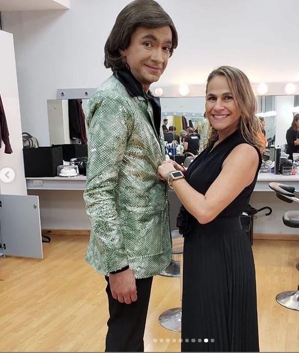 Jorge y Sandra harían buena pareja. Instagram.