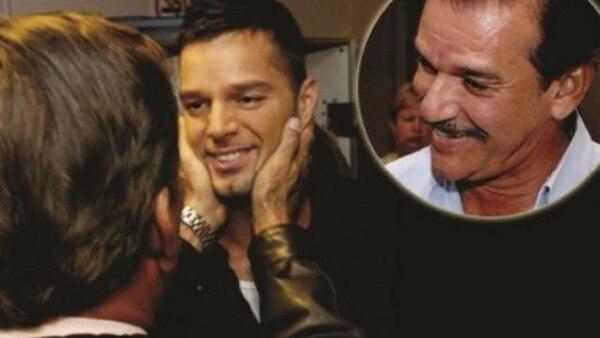 La relación de Ricky con su papá desde ese entonces fue lejana. Mdzol,com