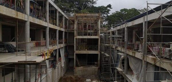 El sector construcción se comienza a recuperar de la pandemia. Foto únicamente con fines ilustrativos.