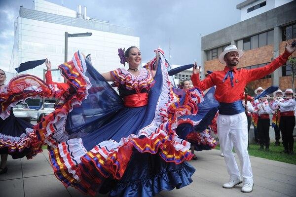 Por segundo año consecutivo una banda tica estará en el Desfile de las rosas. Foto: Jorge Navarro