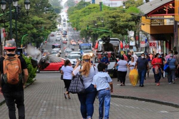 Esa es la imagen que quiere evitar el ministerio de Salud ver en las calles este fin de semana. Foto: Rafael Pacheco
