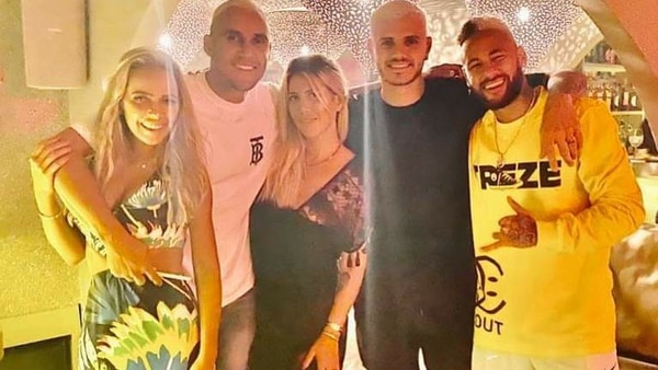 Las vacaciones de Neymar en Ibiza lo contagiaron de COVID-19 y dejan en sospecha a otros compañeros que lo acompañaron como Keylor Navas. Foto: AFP