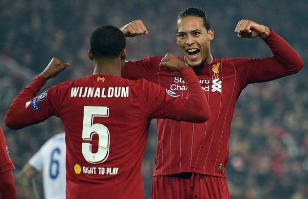 El Liverpool, actual campeón de Champions, está sufriendo con el calendario de partidos. AFP