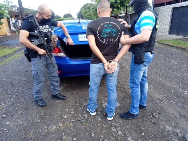 Los sospechosos ocultaban a los extranjeros hasta poder llevarlos a San José. Foto Migración.