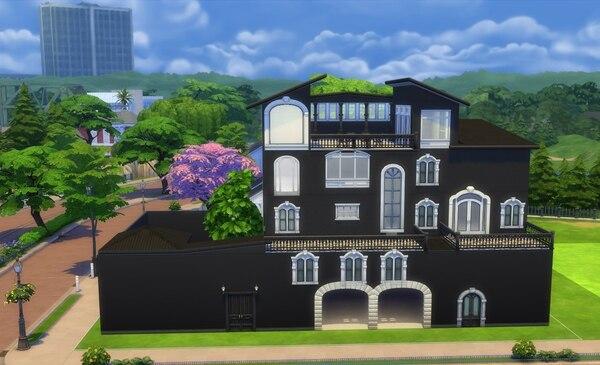 La casa de Manzanita fue diseñada en Los Sims por un