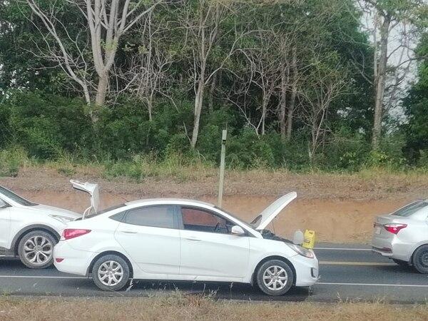 Las autoridades recuperaron el carro de Brands en un operativo realizado en Orotina. Foto cortesía Jens Brands.