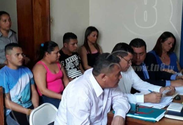 El juicio se está llevando a cabo en los Tribunales de Diriamba Nicaragua desde el 1 de setiembre del 2017. Foto: TN8