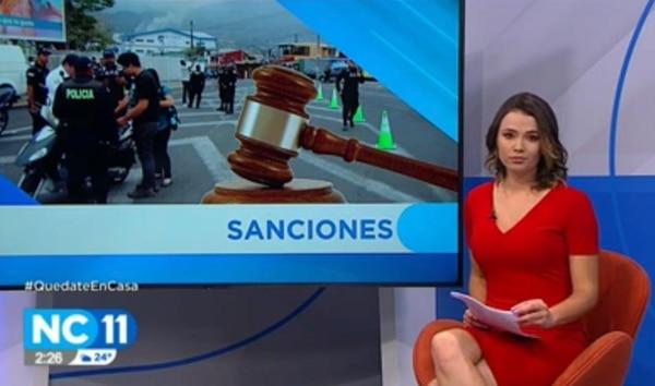 La periodista María Fernanda Quirós estuvo en NC Once pero se dio a conocer tras su paso en el programa Giros. Cortesía