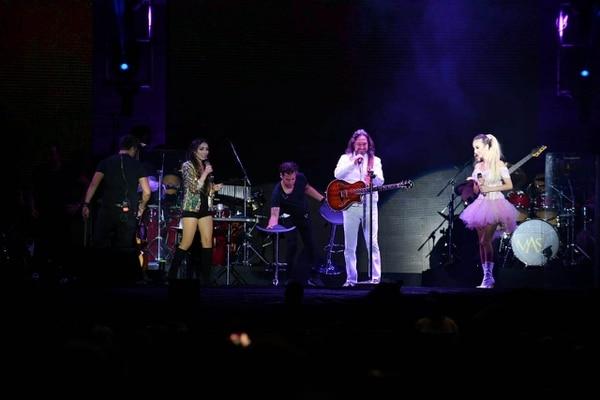 El concierto del famoso Buki fue el sábado por la noche.