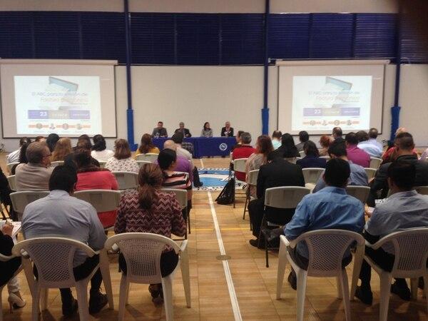 Este 23 de enero el Colegio de Contadores Públicas realizó una charla explicativa para mostrar cómo funciona la factura electrónica. Cortesía.