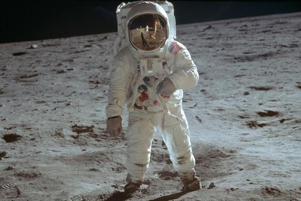 Neil Armstrong fue el primer ser humano en llegar a la Luna. Foto (Neil Armstrong/NASA via AP).
