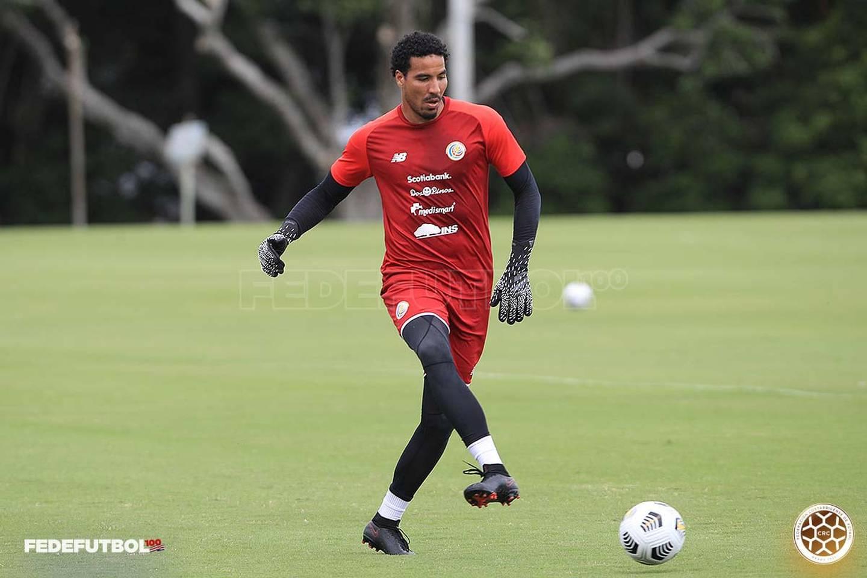 El portero Esteban Alvarado dijo que él y sus compañeros tienen claro a cuáles rivales enfrentarán en Copa Oro. Fedefútbol.