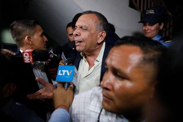 El expresidente Porfirio Lobo salió embarrado en el juicio. (AP Photo/Elmer Martinez, File)