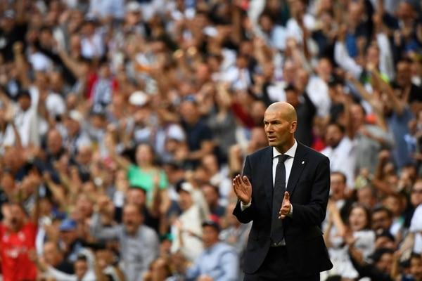 La meta del Real Madrid es alcanzar el segundo puesto. AFP
