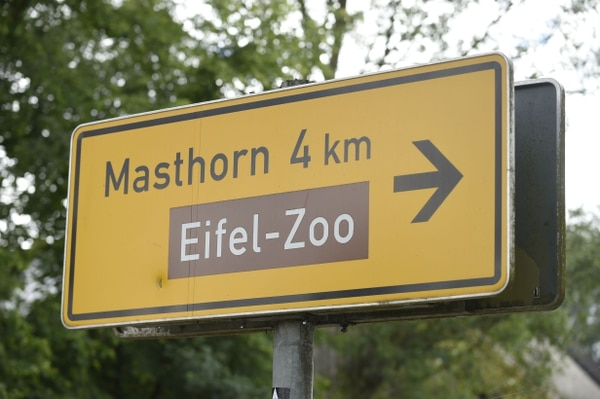 El zoológico tiene unos 400 animales en 30 hectáreas. AFP