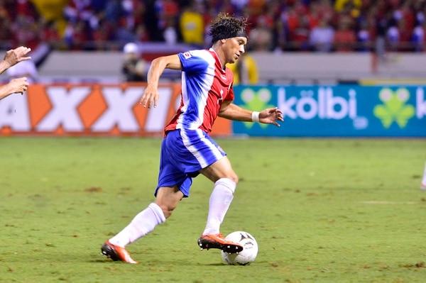 Cristian Bolaños fue sancionado con 10 meses fuera de la Mayor. Rafael Pacheco