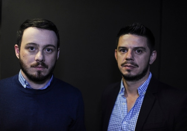 Anthony Venegas y Michael Rodríguez denunciaron canónicamente al sacerdote Mauricio Víquez por supuesto abuso sexual. Fotos: Jorge Navarro